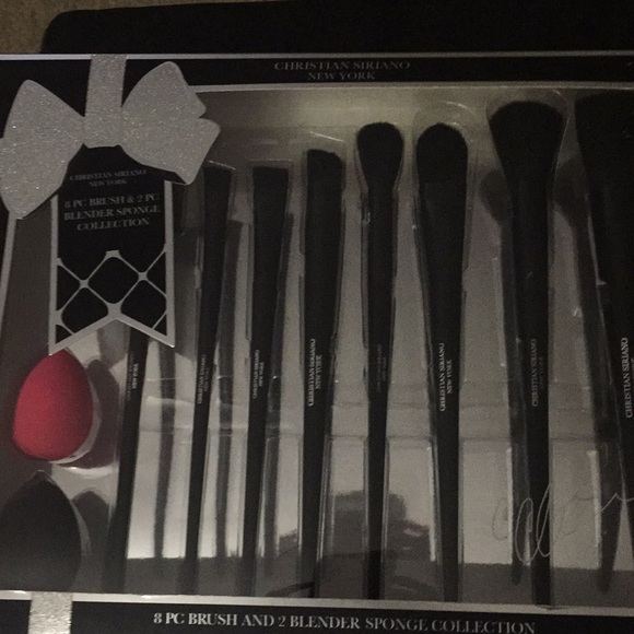 4229518c392b Christian Sirlano New York 8 pc brush NWT